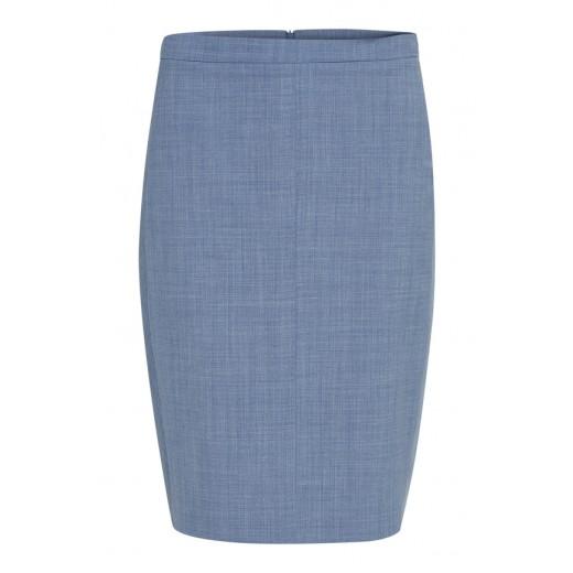 karen by simonsen nederdel sydney pencil new blue-32