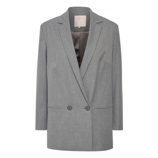karen by simonsen blazer fashion new grey-31