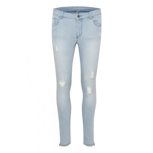 Denim hunter jeans celina zip torn-31
