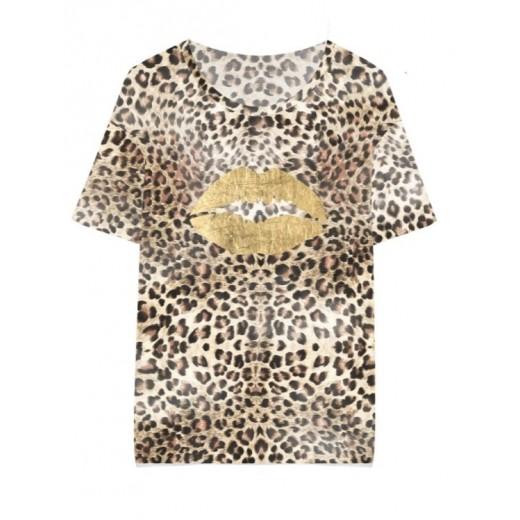 culture t-shirt lip leo-31