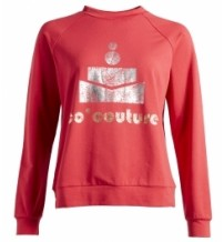 co couture sweat bluse Red-20