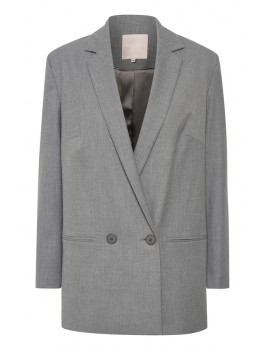 karen by simonsen blazer fashion new grey-20