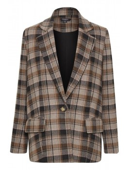 soaked in luxury blazer indie check-20