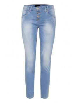 pulz jeans rosita gul strib-20