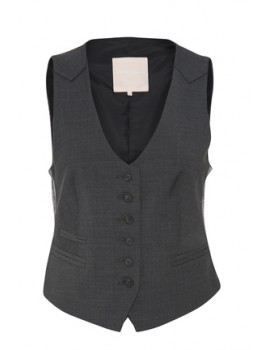 karen by simonsen vest sydney checked-20